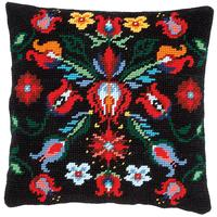 Vervaco III Tapestry Cushion Front - FOLKLORE - 40x40cm
