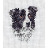 Anchor Counted Cross Stitch Kit - PCE219 Border Collie