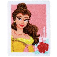 Latch Hook Rug - Enchanted Beauty Disney Princess Disney Kit By