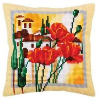 Tuscany -  Chunky Cross Stitch Cushion Front Kit