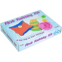 First Knitting Kit from the Craft Factory