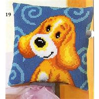 Fun Puppy Cushion Front Tapestry Kit Vervaco