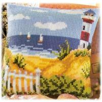 Seascape. Vervaco Cushion Front Tapestry Kit