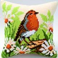 Spring Robin Vervaco Cushion Front Tapestry Kit (101)