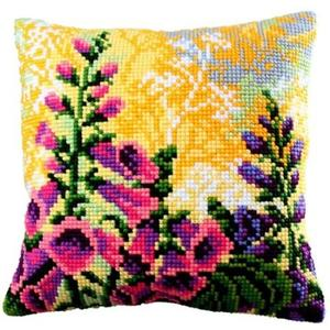 Lupin Chunky Cross Stitch Cushion Front Kit 40x40cm