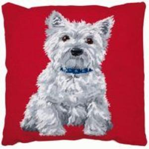 White Westie Scottie- Anchor Living Tapestry Kit ALR36  40 x 40c
